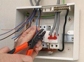 Монтаж электропроводки в щитке