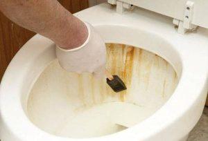 Как удалить ржавчины из раковины и ванны